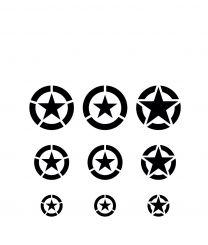 Vallejo Hobby Stencils: USAF Markings (1/32 -1/48 - 1/72)