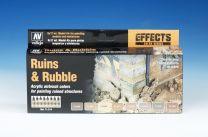 Vallejo Model Air verfset Ruins & Rubble 71.214